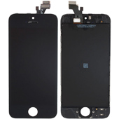 Replacement Black iPhone 5 assembled screen panel Touch Digitizer + LCD Screen + Outer Glass