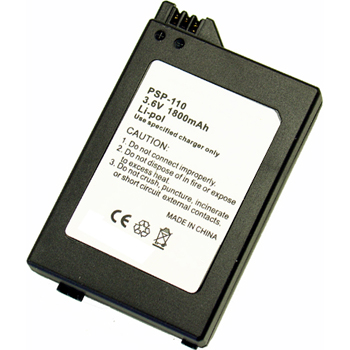Replacement for Sony PSP-110 PSP-1000 PSP-1001 Battery